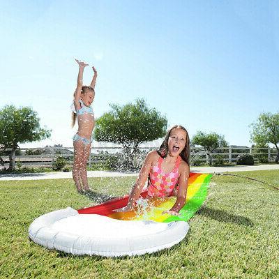 4m Water Slide Mat for Summer Pool Backyard Outdoor