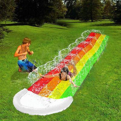 4m Water Slide Mat for Children Pool Toy Backyard Outdoor