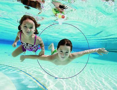 5 Pool Swim Rings Diving Water Slides Hoops
