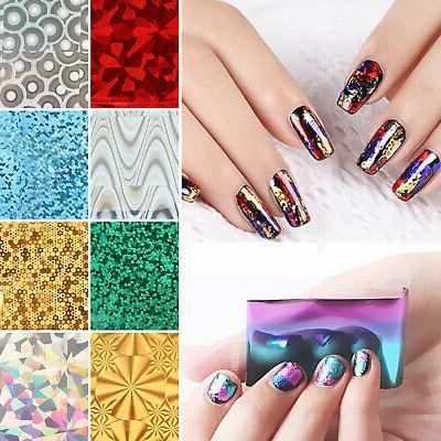 50pcs/set Nail Nail Art Sticker Slide Nail Decor