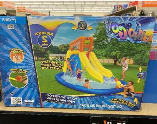 53346e h2ogo mount splashmore kids inflatable water