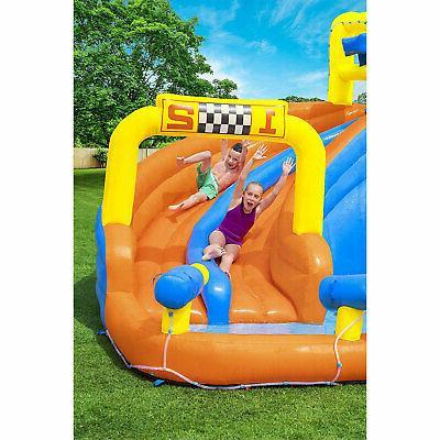 Bestway Splashtona Raceway Kids Backyard Water