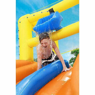 Bestway H2OGO! Splashtona Raceway Kids Backyard