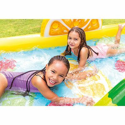 Intex Outdoor Inflatable Kiddie Play Center with Slide