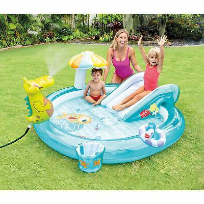 Intex 57165EP Inflatable Kiddie Pool Water Play with