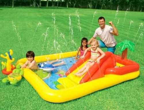 57454ep inflatable ocean play center pool multi