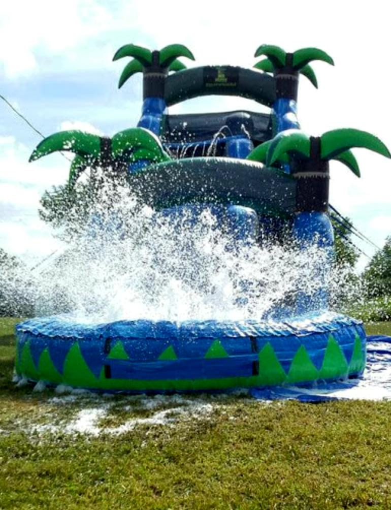 60x20x27 Commercial Inflatable Water Slide Bounce House Obst