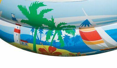 Intex x x 18in Swim Paradise Seaside Inflatable Pool