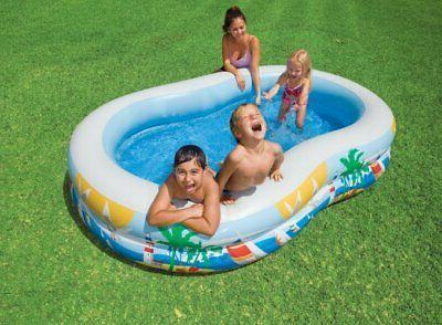 Intex 8.5ft x 5.25ft x 18in Paradise Seaside Pool