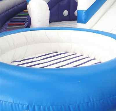 99x50x30 Castle Inflatable Water Slide Park Trampoline We Finance