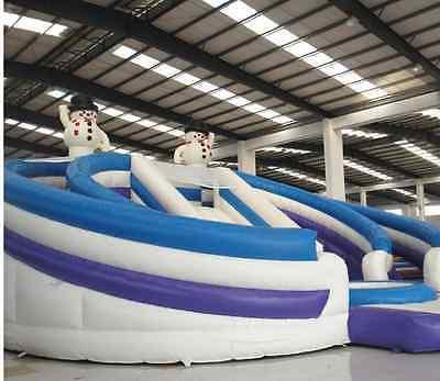 99x50x30 Inflatable Trampoline We Finance