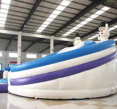 99x50x30 Bouncy Castle Inflatable Slide Trampoline We