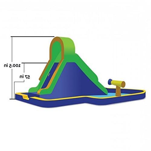 Blast Zone Rush Inflatable Water