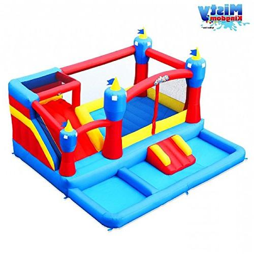 Blast Misty Inflatable Bouncer Water Park with Blast Zone