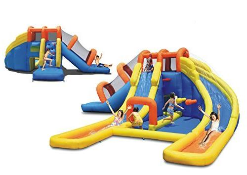 Bounceland Water Slides and Pool Water