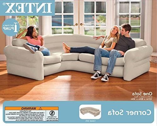 Intex Corner Living Room Neutral Sectional |