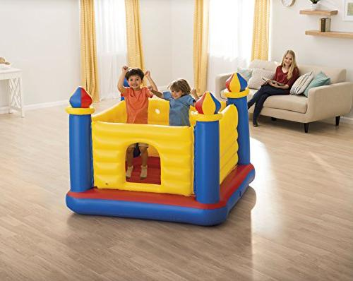 Intex Jump Castle Inflatable for Ages 3-6