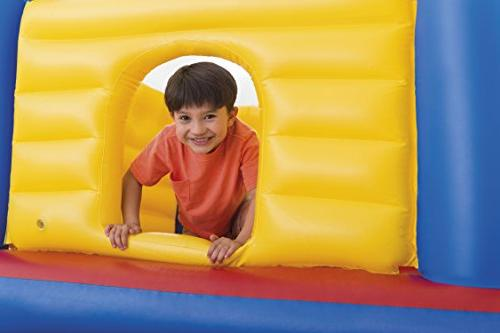 Intex Jump Castle Inflatable Bouncer, for Ages
