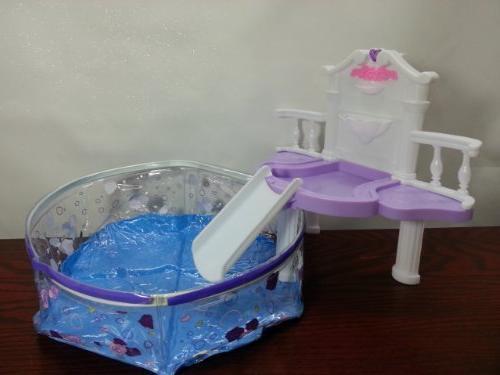 Rose Palace 2678 Water Fall Fantasy Pool Set