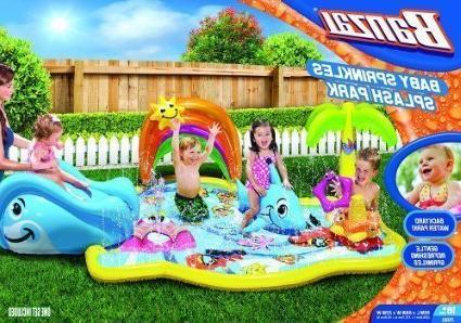 Spring & Summer Toys Banzai Baby Sprinkles Splish Splash Wat