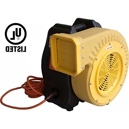 Zoom Blowers Bounce Blower For Inflatables, Slides, Obstacle & Bouncy Games High Quality Air