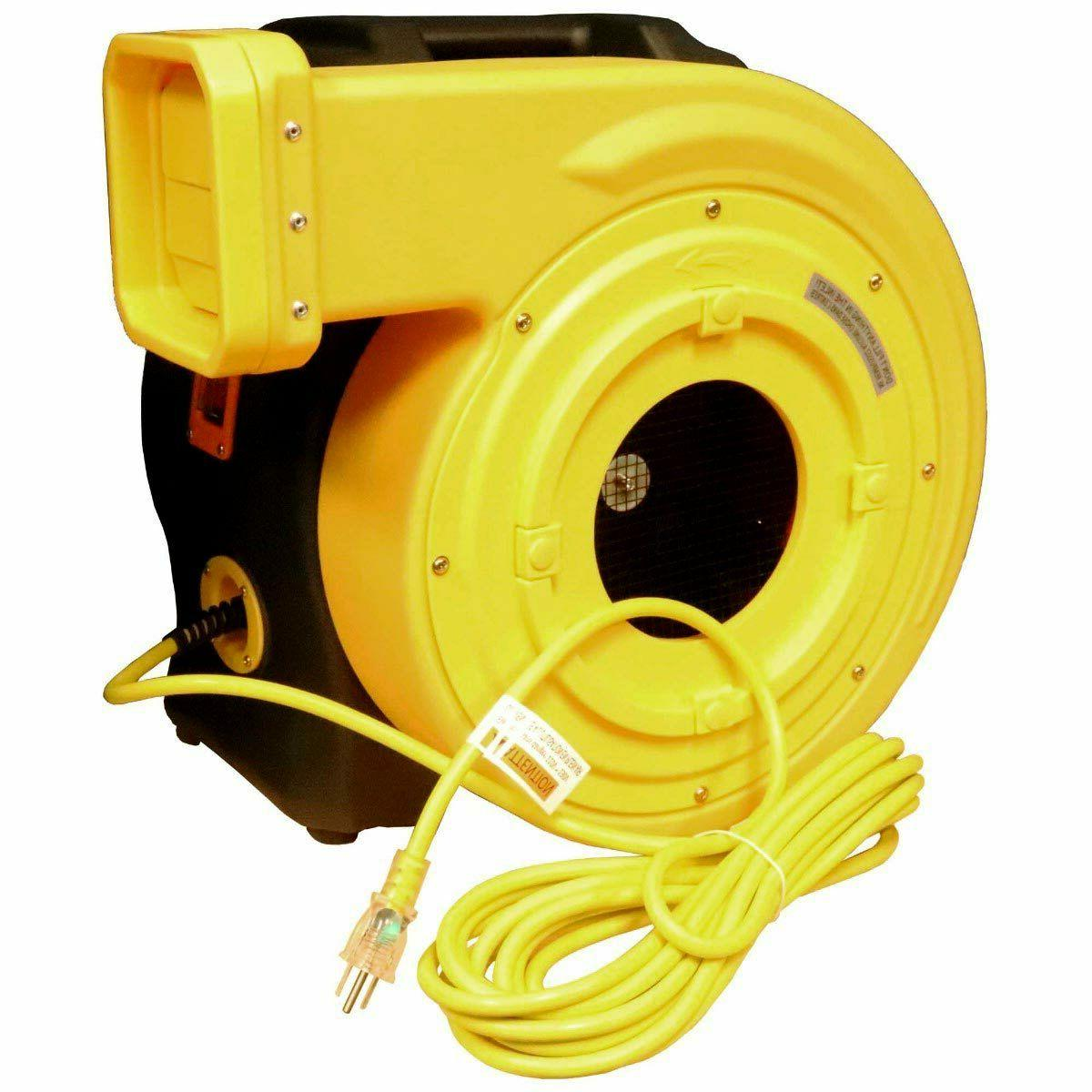 Zoom Blowers 2 HP Bounce House Blower For Inflatables, Slide