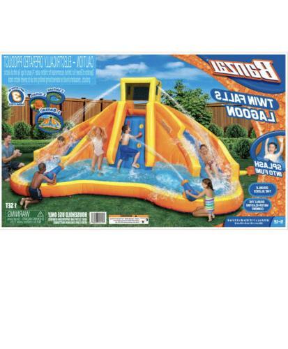 Amazing ! Falls Lagoon Racing Pool/ Slide