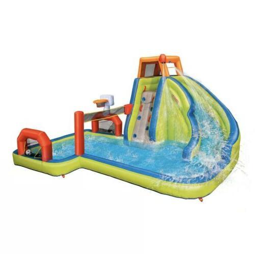 Banzai Water Park Center Pool Slide