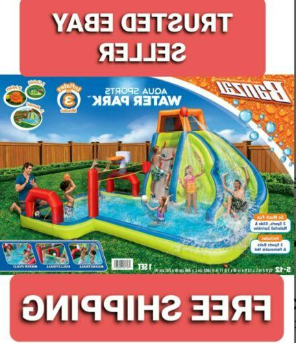 aqua sports water park inflatable kids aquatic