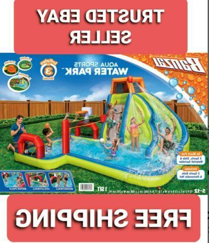aqua sports water park inflatable kids aquatic