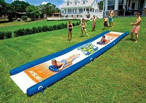backyard mega water slide 25 x 6