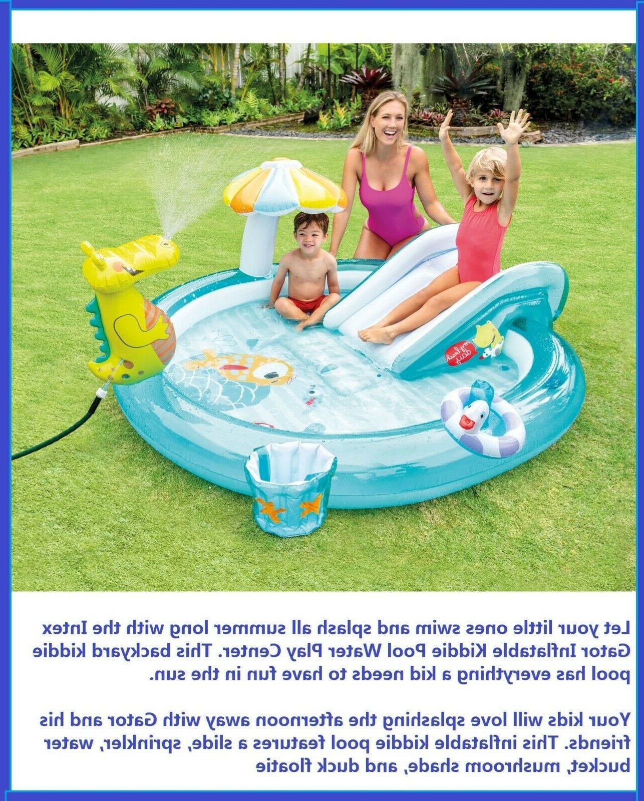 Banzai Kids Inflatable Outdoor Surf Rider Aqua Lagoon Water