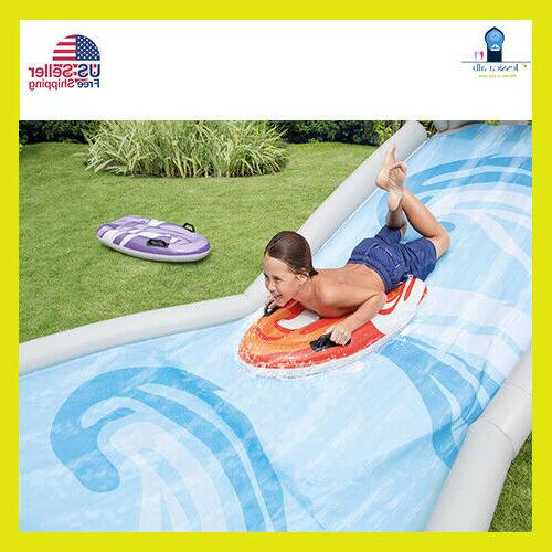 Banzai Kids Inflatable Outdoor Surf Water Park Inte
