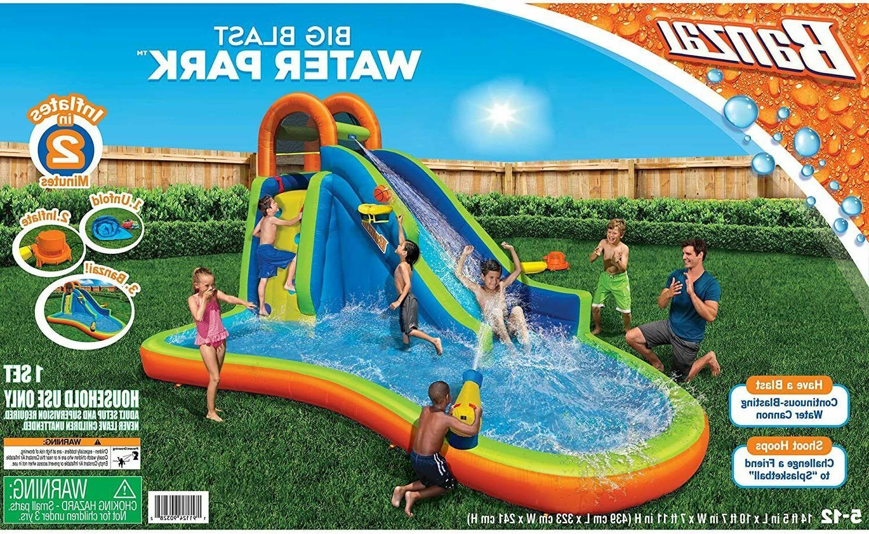 Banzai Big Water Park Basket Toy Jumper