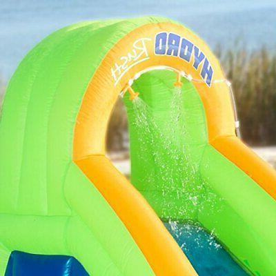 Blast Zone Inflatable slides pool kids