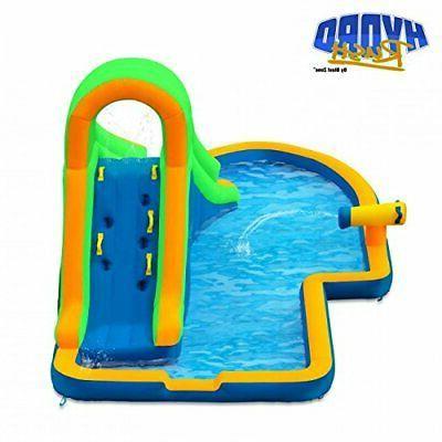Blast Zone Hydro Inflatable Water slides pool