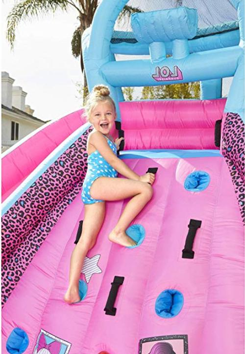 bouncer Water Slide Blower bag kids wall