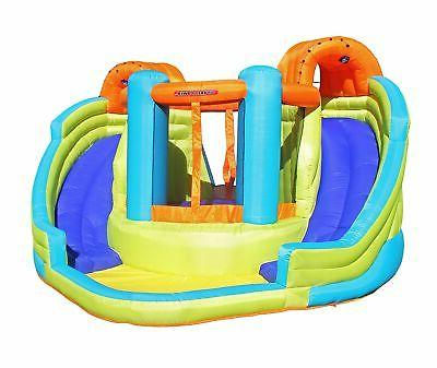 brand new double slide and bounce inflatable
