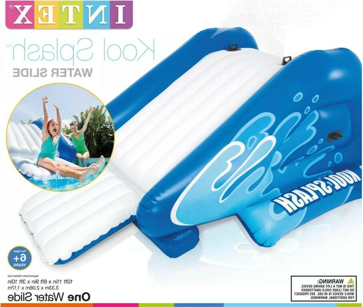 brand new kool splash inflatable play center