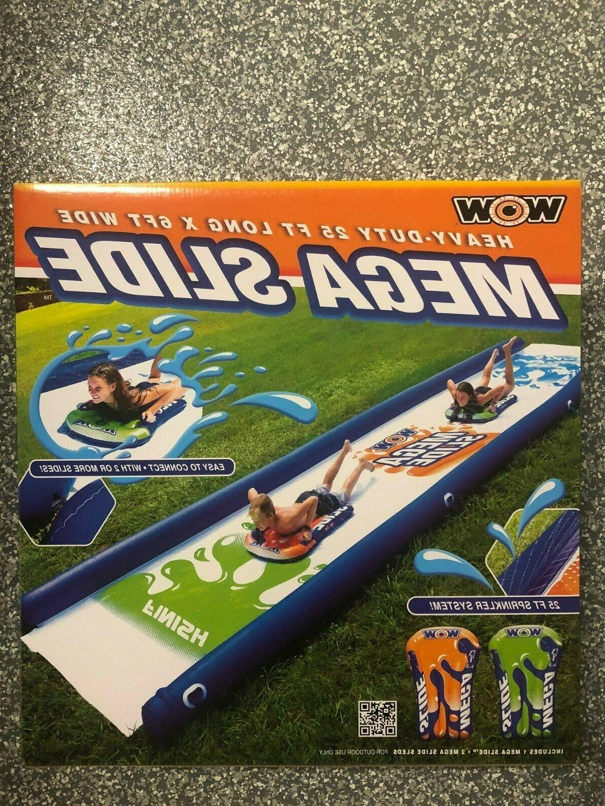Brand Water Slide Fun with sleds