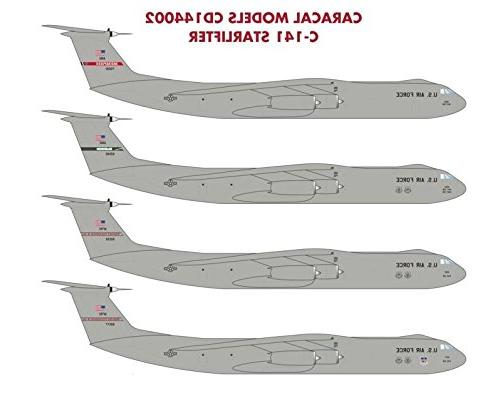 CARCD144002 Decals -