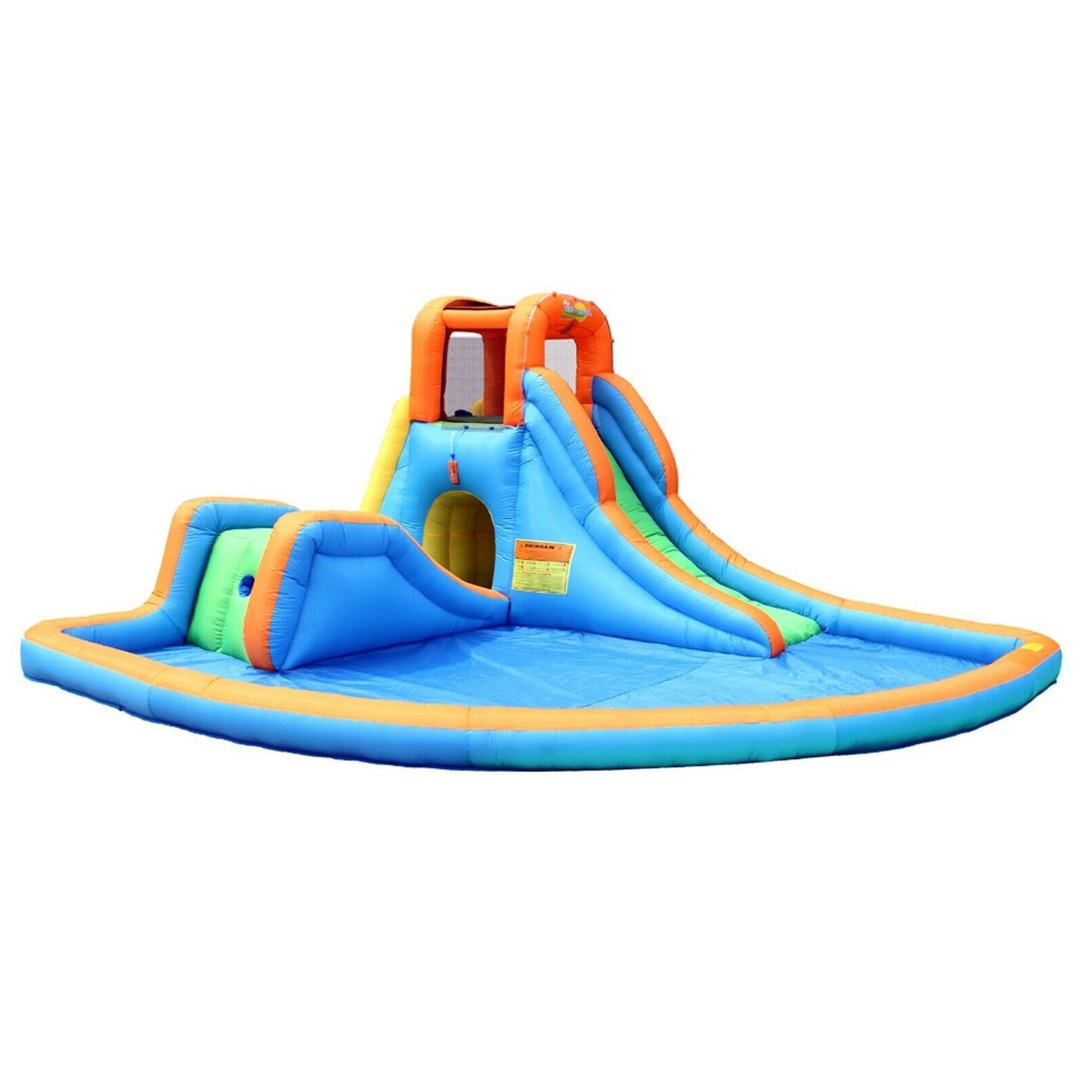 cascade inflatable water slides