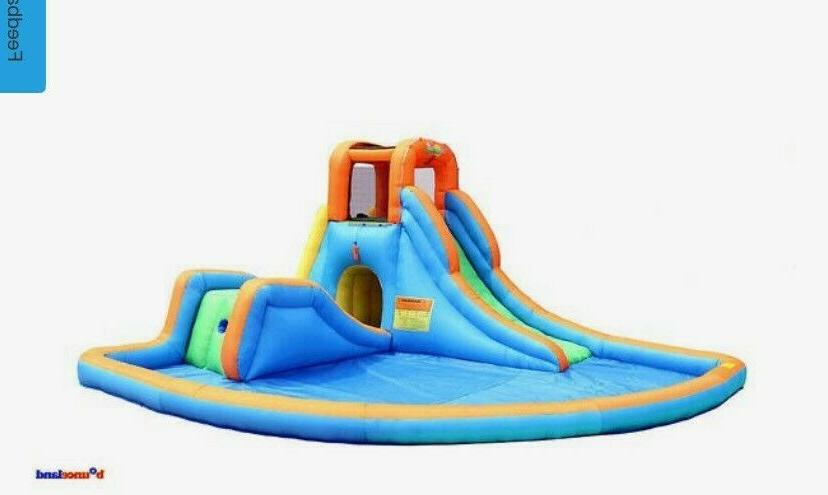 cascade water slides with large pool new