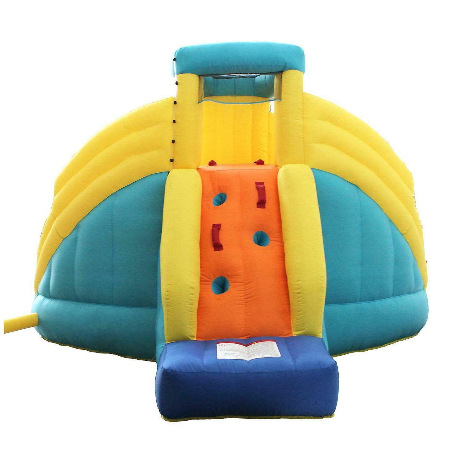 Castle Bounce Inflatable Park with Slide 12.8'
