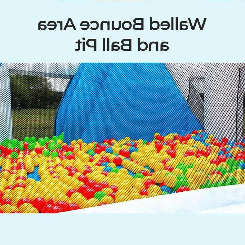Children's Inflatable Water Slide Outdoor Shark Castle Pit