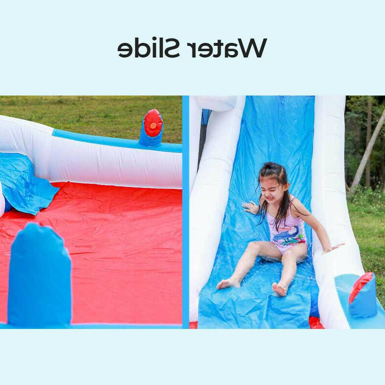 Children's Inflatable Bouncy Water Outdoor Castle Pit