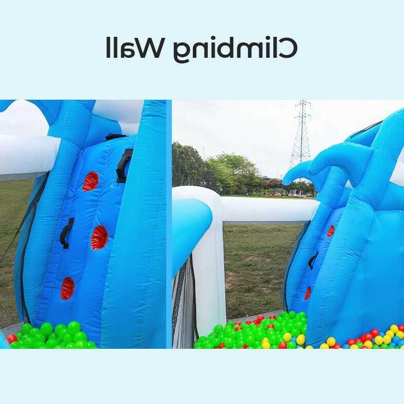 Children's Inflatable Bouncy Water Shark Castle Ball