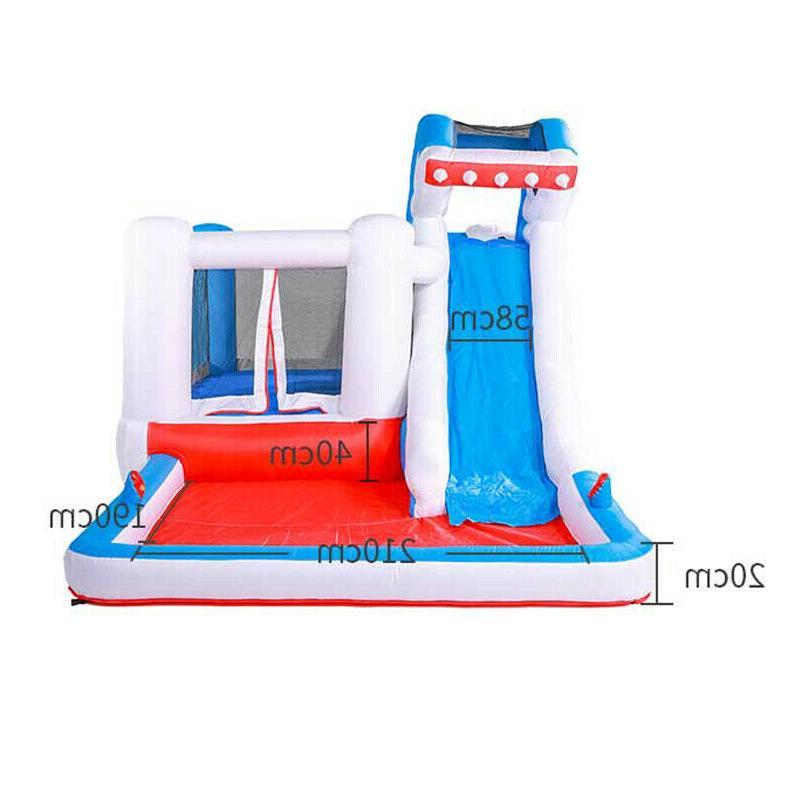 Children's Inflatable Water Outdoor Shark Castle