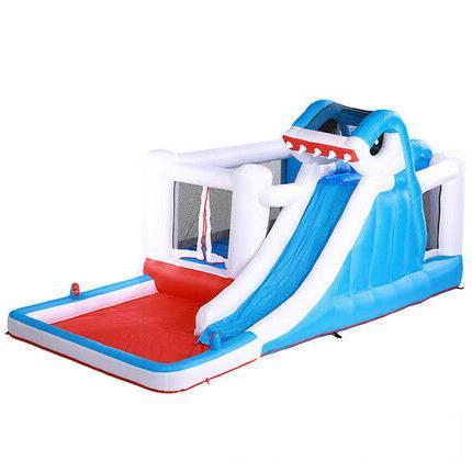 children s inflatable bouncy castle water slide