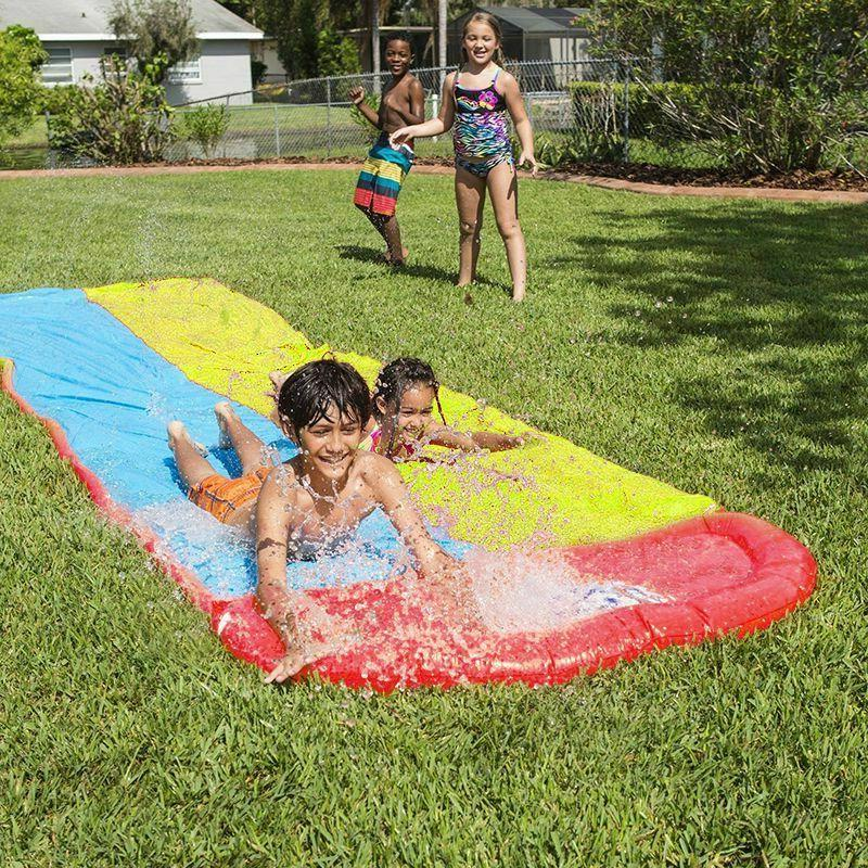 Children Summer Double Slide Slides Toys